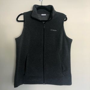 Heather Grey Fleece Vest from Columbia - like new